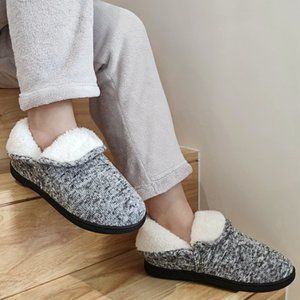 Women Slippers Warm House Shoes Fluffy Fuzzy